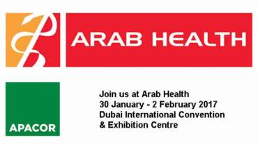 Meet Apacor at Arab Health Dubai February 2017