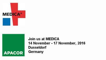 Meet Apacor at Medica Dusseldorf November 2016